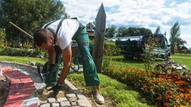 Dienstleistungen für Bürger im Garten